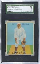 1933 Goudey Big League Chewing Gum R319 #114 Luke Sewell SGC 40 Baseball Card