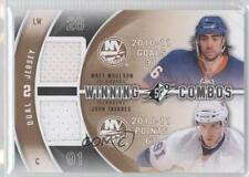 2011 SPx Winning Combos #WC-TM Matt Moulson John Tavares New York Islanders Card