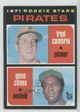2014 Topps #1971-27 1970 Rookie Stars Pirates (Fred Cambria Gene Clines) Fred