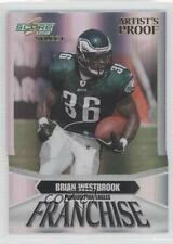 2007 Score Select Franchise Artist's Proof #F-19 Brian Westbrook Football Card
