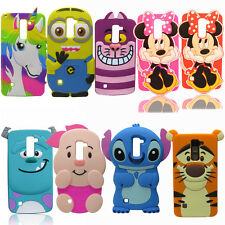 New 3D Cartoon Soft Silicone Rubber Case Cover For LG Stylus 2 Stylo2 LS775 K520