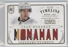 2013-14 Panini National Treasures Rookie Timeline Patch RT-SMO Sean Monahan Card