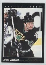 1993-94 Pinnacle French #415 Brent Gilchrist Dallas Stars Hockey Card