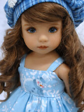 """Suzie Snowflake - dress, hat & shoes for Dianna Effner Little Darling Doll 13"""""""