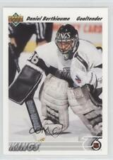 1991-92 Upper Deck #150 Daniel Berthiaume Los Angeles Kings Hockey Card