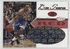 2005-06 Sage Autographs Red #A21 Dijon Thompson UCLA Bruins Auto Basketball Card
