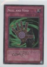 2004 Yu-Gi-Oh! Soul of the Duelist #SOD-EN057.1 Null and Void (Super Rare) Card