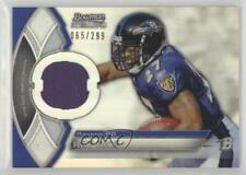 2011 Bowman Sterling Relics Refractors #BSR-RR Ray Rice Baltimore Ravens Card