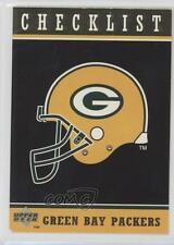 1996 Upper Deck Collector's Choice Green Bay Packers #GB90 Checklist Card