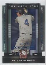 2008 Donruss Elite Extra Edition Aspirations Die-Cuts #96 Wilmer Flores Card