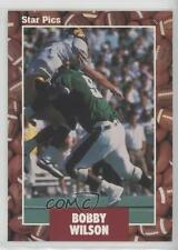 1991 Star Pics #63 Bobby Wilson Michigan State Spartans Rookie Football Card