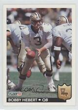 1992 Fleer #275 Bobby Hebert New Orleans Saints Football Card