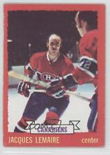 1973-74 O-Pee-Chee #56 Jacques Lemaire Montreal Canadiens Hockey Card