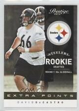 2012 Playoff Prestige Extra Points Gold #217 David DeCastro Pittsburgh Steelers