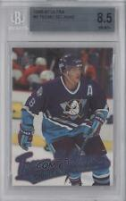 1996 Fleer Ultra #6 Teemu Selanne BGS 8.5 Anaheim Ducks (Mighty of Anaheim) Card