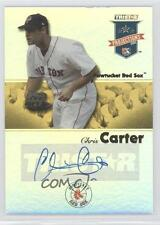 2008 TRISTAR PROjections #385 Chris Carter Boston Red Sox Pawtucket Auto Card