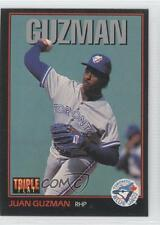 1993 Triple Play #28 Juan Guzman Toronto Blue Jays Baseball Card