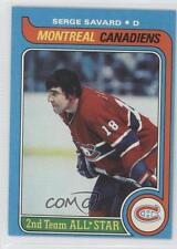 1979-80 Topps #101 Serge Savard Montreal Canadiens Hockey Card