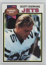 1979 Topps #362 Scott Dierking New York Jets Football Card