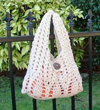 Crochet Pattern - Stylish Creamy Pine Tree Handbag (For Beginner)