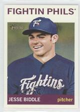 2013 Topps Heritage Minor League Edition #196 Jesse Biddle Rookie Baseball Card