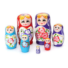 5-Pieces Lovely Russian Nesting Matryoshka  Wooden Doll Set