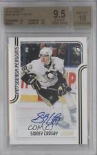 2011-12 Score Signatures Autographed #366 Sidney Crosby BGS 9.5 Auto Hockey Card