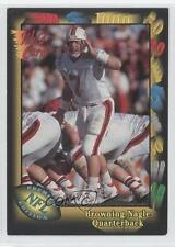 1991 Wild Card #44 Browning Nagle New York Jets Rookie Football