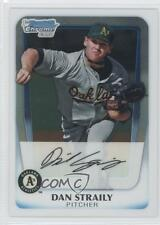 2011 Bowman Chrome Prospects #BCP53 Dan Straily Oakland Athletics Baseball Card
