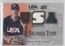 2008 Upper Deck USA Baseball Teams Box Set #18U-MP Matt Purke Rookie Card