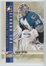 2011-12 In the Game Heroes and Prospects #143 Harri Sateri San Jose Sharks Card