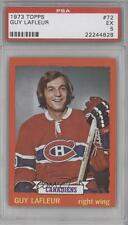 1973-74 Topps #72 Guy Lafleur PSA 5 Montreal Canadiens Hockey Card