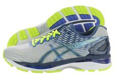 Asics Gel-Nimbus 18 T600N-9351 Grey Blue Mesh Running Shoes Medium (D, M) Mens