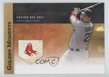 2012 Topps Golden Moments Series One #GM-5 Adrian Gonzalez Boston Red Sox Card