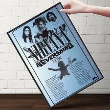 NIRVANA Nevermind Concert Poster | Gifts For Guys, Geeks | FREE Shipping