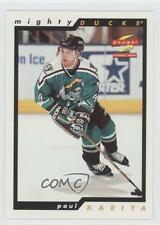 1996-97 Score #8 Paul Kariya Anaheim Ducks (Mighty of Anaheim) Hockey Card