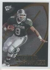 2002 Press Pass #48 TJ Duckett Michigan State Spartans T.J. Rookie Football Card