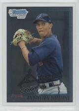 2010 Bowman Draft Picks & Prospects Chrome #BDPP23 Andrelton Simmons Rookie Card