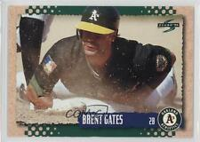 1995 Score #241 Brent Gates Oakland Athletics Baseball Card