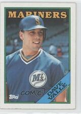 1988 Topps #583 Dave Valle Seattle Mariners Baseball Card