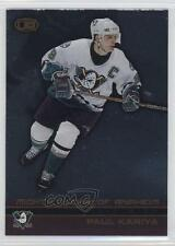 2002-03 Pacific Heads Up #2 Paul Kariya Anaheim Ducks (Mighty of Anaheim) Card