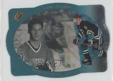 1996-97 SPx #1 Paul Kariya Anaheim Ducks (Mighty of Anaheim) Hockey Card