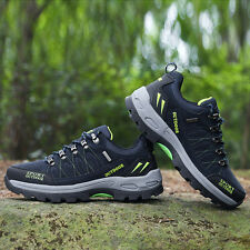 GOMNEAR big size hiking trekking trail shoes wearable shock absorb outdoor shoes