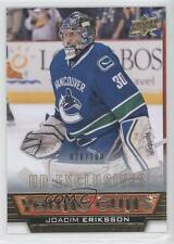 2013 Upper Deck UD Exclusives #459 Joacim Eriksson Vancouver Canucks Hockey Card