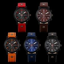 Fashion Men Classic Wrist Watch Analog Quartz Stainless Steel Sports Watch Gifts