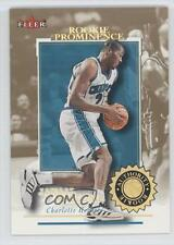 2000-01 Fleer Authority Prominence 125/75 #138 Jamaal Magloire Charlotte Hornets