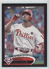 2012 Topps Black #617 Jimmy Rollins Philadelphia Phillies Baseball Card