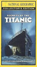 National Geographic Video - Secrets of the Titanic (VHS, 2000.16 min new footage