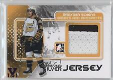 2010 In the Game Heroes and Prospects M-03 Brayden Schenn Los Angeles Kings Card