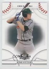 2008 Donruss Threads #95 Josh Vitters Chicago Cubs Rookie Baseball Card